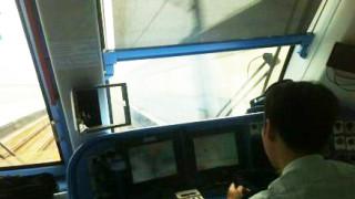 中国の地下鉄はハイテクすぎるのか運転手さんは退屈です。