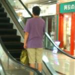 たまにある意味のない中国のエスカレーター