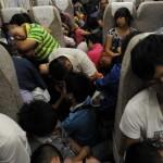 中国:列車の中で寝る時のひと工夫