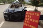 中国のエアバッグ装着車