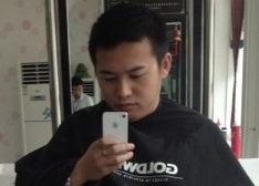 中国のちょっと違和感のある理髪店
