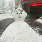 中国の雪だるま3