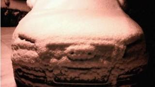 雪の日の落書き