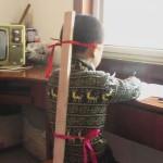 中国の子供の学習する時の姿勢