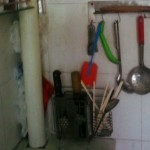 中国の台所にあった刃物というか武器