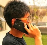 中国で長電話した人は