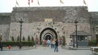 城塞都市 南京の壁を登って入場料をケチる人