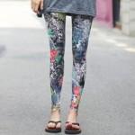 ほぼパンツ丸見え! 中国のレギンス風なファッション