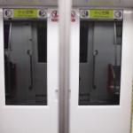 かなり危険な中国の地下鉄の扉