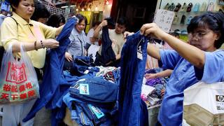 ジーンズを中国の露店で買う場合の注意