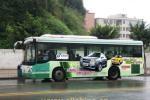 中国のバスの車体広告の狙った仕掛けと予想外でしくじった仕掛け