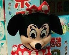 中国のミニーマウスはイリュージョン(中身)全開
