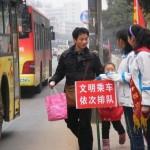 中国のバスで喫煙する人たちが いなくならない理由
