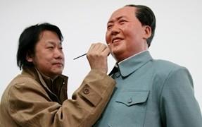 中国の記念館用の蝋人形作家の作品