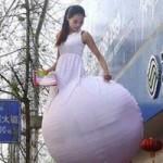 中国のマジでお高くとまってる変なキャンギャル