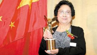 ノーベル医学 生理学賞受賞の中国人  屠 呦呦(トゥ ヨォウヨォゥ)