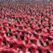 中国のおばさんが2万人も集まって世界記録に挑んだ!
