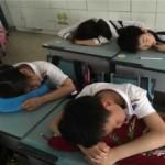 だいたい40分ぐらいの中国の学校のお昼寝タイム-それ以上寝ると逆効果な理由。