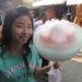 """中国の煙台名物の""""花式綿菓子""""が少しずつ進化していた。"""
