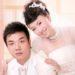 結構ガンバる中国の結婚写真カメラマン