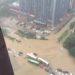中国の大雨対策用のインフラ設備が功を奏したか否かの記事