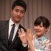 卓球の福原愛ちゃんの結婚報告会見での中国語
