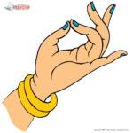 中国の蘭花指(らんかし)と呼ばれる指の所作