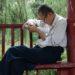 中国のおじいさんはいくつになっても勉強熱心