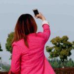 中国ではいつでもどこでも自撮りしたい時に自撮りします。