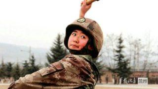 中国女性の中には手榴弾を投げた経験者もいっぱいです
