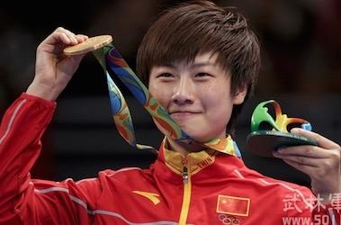 卓球世界ランキング1位の丁寧(ていねい)選手 | 東方愉快 : 面白 ...