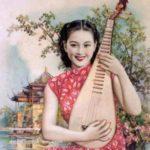中華民国時代に大流行した美人画