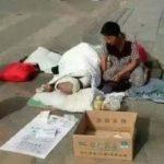 """中国の """"物乞い"""" はすでに職業になっている?"""