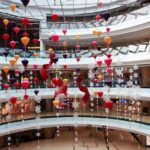 商场中厅 ー 中国のショッピングモールの吹き抜けホールで見たちょっとゾッとする景色