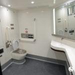 洗手间 ー 中国新幹線のトイレ使用中の表示ランプの意味