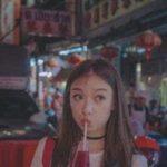 吸管 ー 中国女性がストローを小道具として使う時