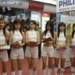 中国の家電量販店のキャンペーンガールの吸引力がスゴい