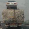 中国の高速道路のトラックの積荷にえ?って思う時