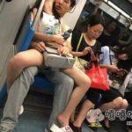 中国のカップルはいつでもどこでもイチャコラします