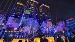 中国各地の都心部のビルはなぜあんなに光っているのか
