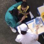 学校の予防接種で注射嫌いの子が脱走しだした