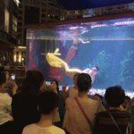 泳ぎが上手すぎる中国の人魚ショーの人魚とその例外