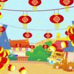 新年快楽!中国の爆竹のある風景のご紹介