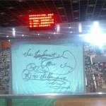 中国の学校の合同講義の電光掲示板で どうしても伝えたかったこと
