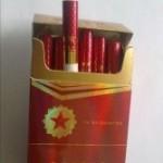 吸うというよりおべんちゃら目的の中国のタバコ