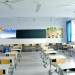 教室の天井ファンの設置がいい加減すぎた