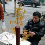 中国の飴細工の出来がおじさんによって格差あり過ぎ