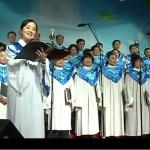 少しIT化した中国の聖歌隊