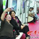 中国:いろいろな所で見かける自撮りする人々