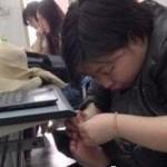 中国女性の好きな足ほじほじ